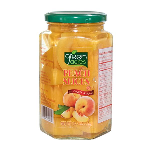 Peach Slices 18.7oz
