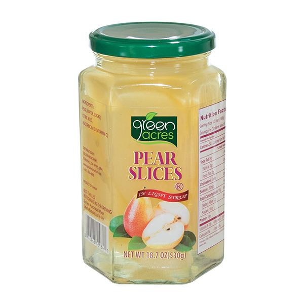 Pear Slices 18.7oz