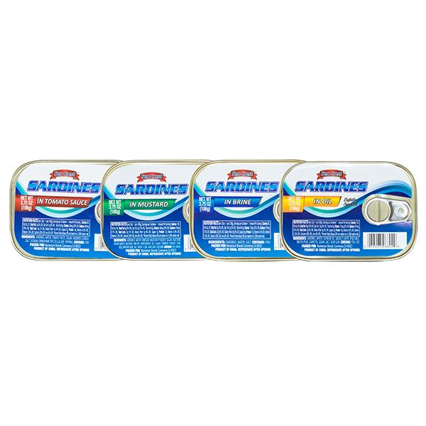 Canned Sardines 3.75 oz